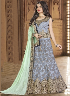 Patch Border Work Designer Classic Lehenga Choli