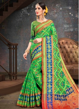 Patola Silk Contemporary Saree