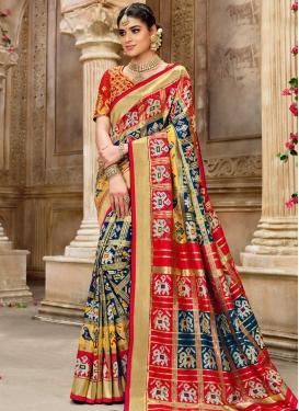 Patola Silk Traditional Designer Saree