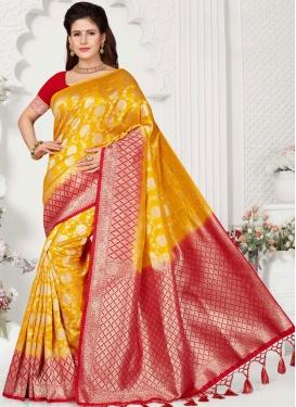Perfect Weaving Festival Traditional Designer Saree