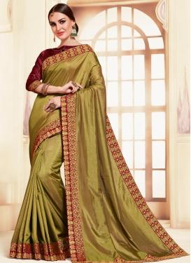 Poly Silk Designer Contemporary Saree