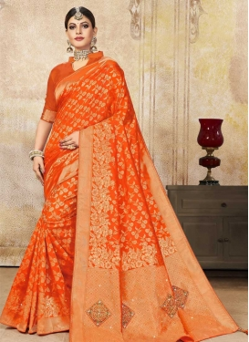 Poly Silk Traditional Designer Saree