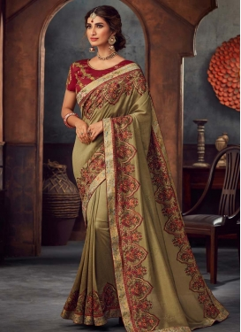 Poly Silk Trendy Classic Saree