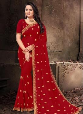 Poly Silk Trendy Classic Saree