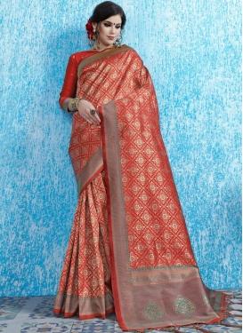 Praiseworthy Designer Traditional Saree