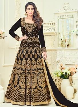 Prime Banglori Silk Booti Work Anarkali Salwar Suit