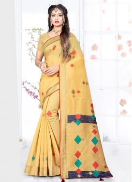 Princely Weaving Art Silk Designer Traditional Saree