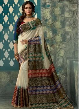 Print Work Classic Saree