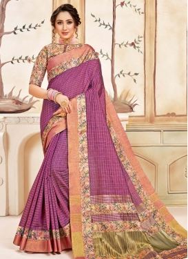 Print Work Traditional Designer Saree