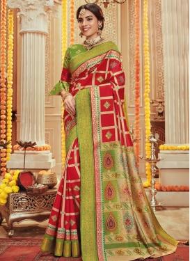 Print Work Trendy Classic Saree
