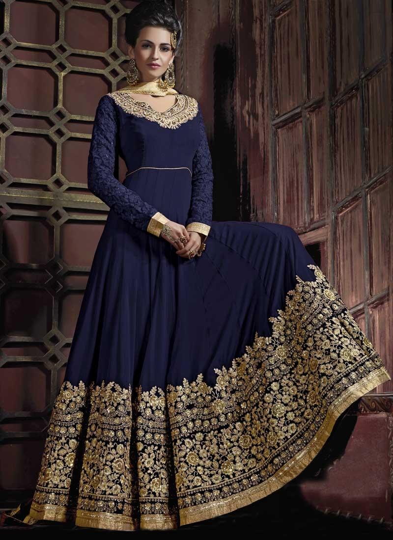 Pure Georgette Floor Length Anarkali Salwar Suit