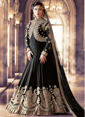 Pure Georgette Floor Length Salwar Suit