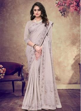 Pure Georgette Traditional Designer Saree