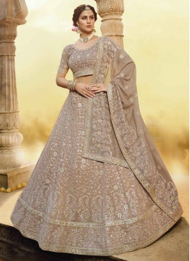 Pure Georgette Trendy Lehenga
