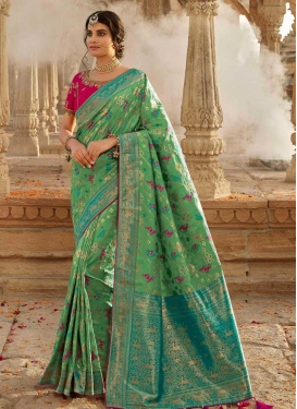 Pure Silk Contemporary Style Saree