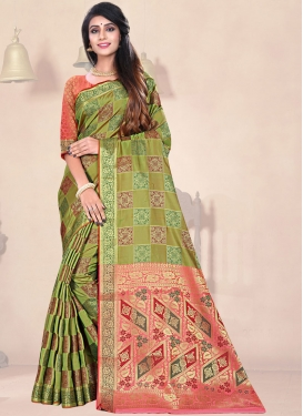Radiant Traditional Designer Saree For Festival