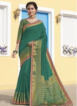 Raw Silk Designer Contemporary Saree