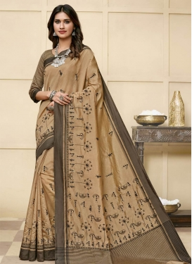 Raw Silk Designer Contemporary Saree
