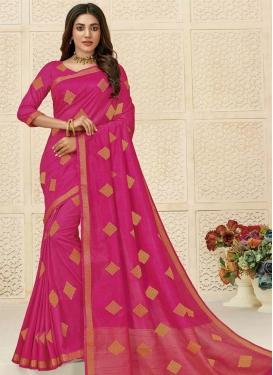 Raw Silk Traditional Designer Saree For Ceremonial