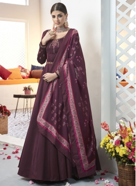 Readymade Anarkali Salwar Suit For Festival