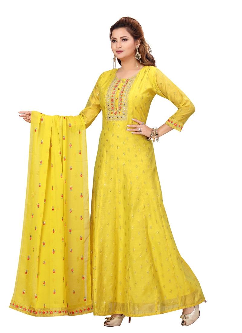 Readymade Anarkali Suit For Festival