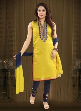Readymade Churidar Salwar Suit For Ceremonial