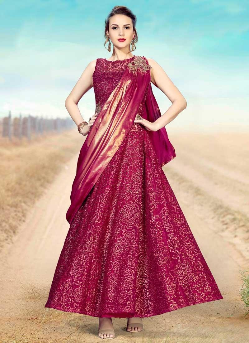 Readymade Floor Length Gown