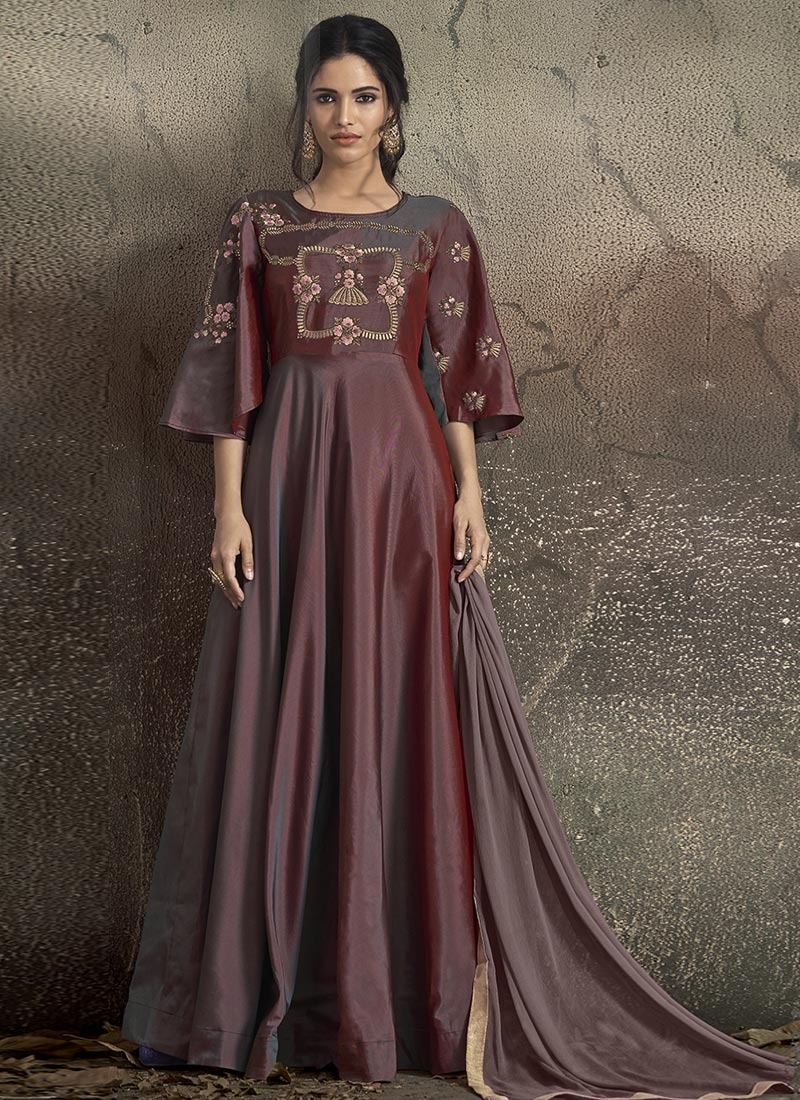 Readymade Trendy Gown For Ceremonial