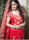 Red Color Designer Lehenga Choli - 1