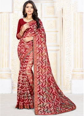 Remarkable Printed Saree For Party