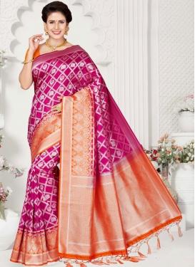 Renowned Art Silk Traditional Designer Saree