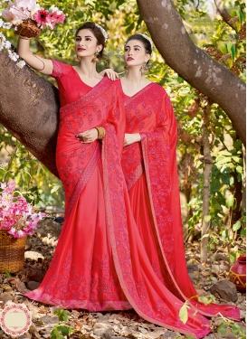 Rose Pink Ceremonial Classic Saree