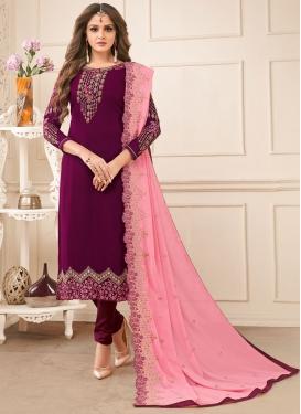 Satin Georgette Designer Pakistani Salwar Suit