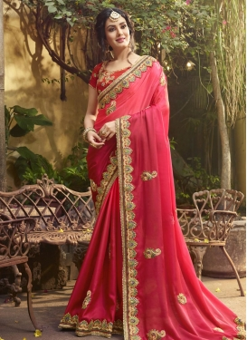 Satin Silk Contemporary Saree