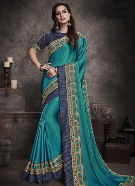 Satin Silk Designer Contemporary Saree