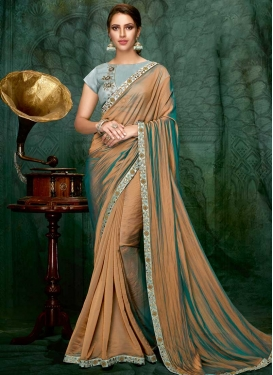 Satin Silk Designer Traditional Saree