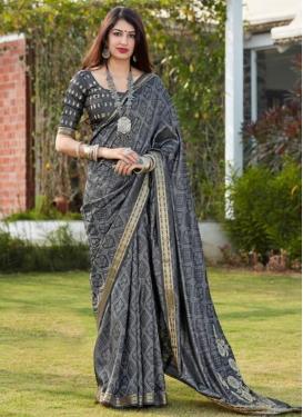 Satin Silk Woven Work Traditional Designer Saree