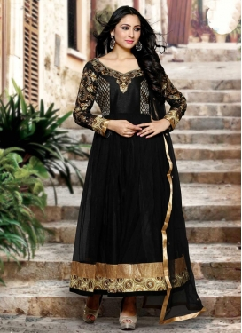 Sensible Fancy Fabric Long Length Salwar Kameez For Festival