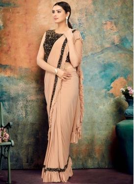 Sequins Work Designer Contemporary Saree