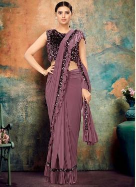 Sequins Work Designer Traditional Saree