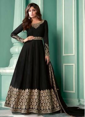 Shamita Shetty Floor Length Anarkali Salwar Suit For Ceremonial