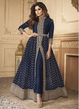 Shamita Shetty Long Length Designer Suit For Party