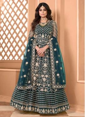 Shamita Shetty Net Long Length Anarkali Salwar Suit
