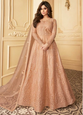 Shamita Shetty Net Long Length Anarkali Salwar Suit For Festival