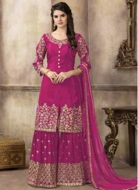 Sharara Salwar Kameez For Ceremonial