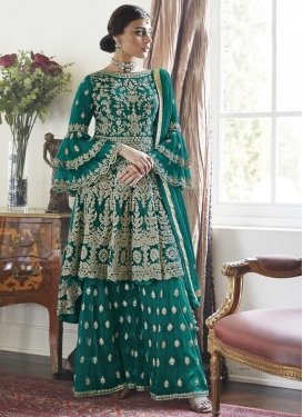 Sharara Salwar Kameez For Festival