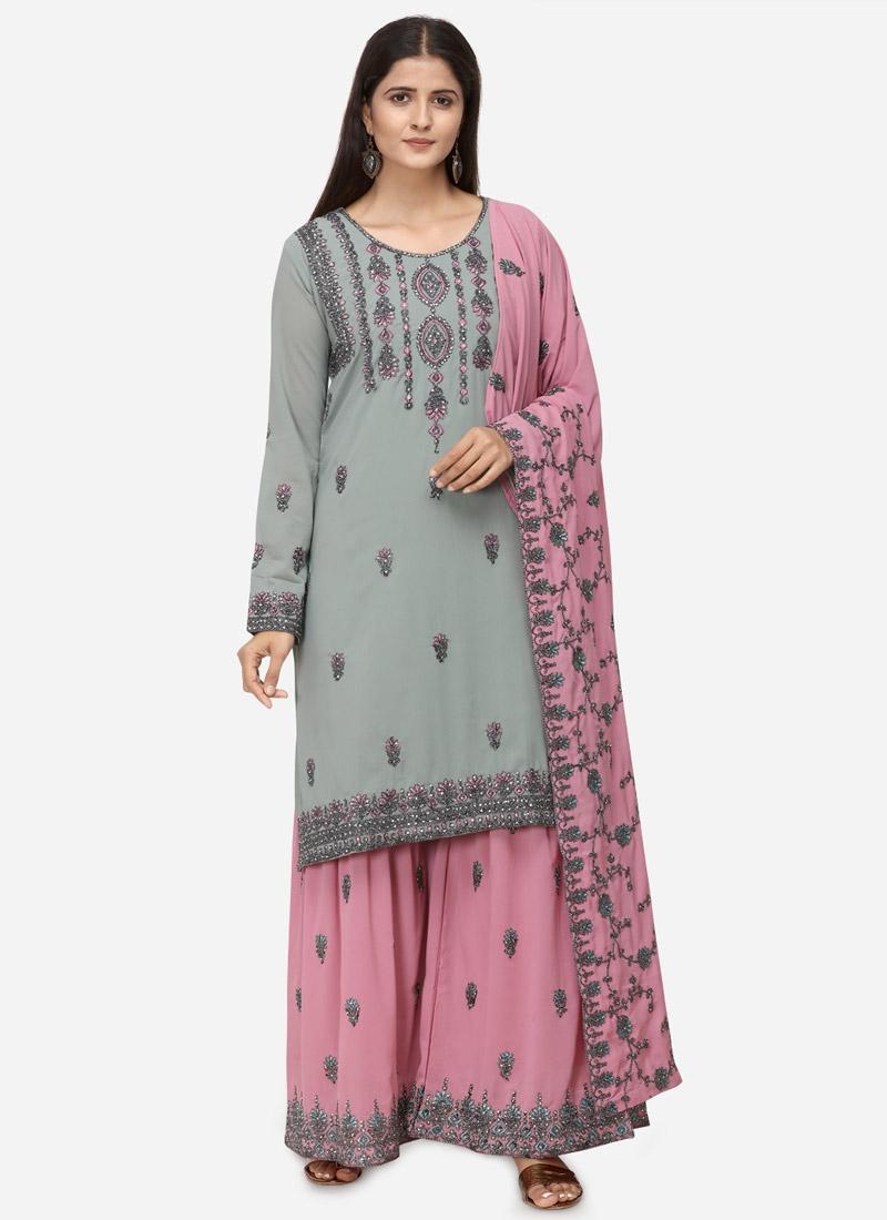 Sharara Salwar Suit For Festival