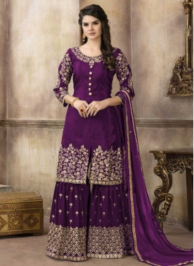 Sharara Salwar Suit For Party