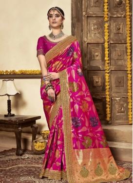 Silk Designer Contemporary Style Saree