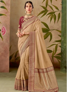 Silk Designer Contemporary Style Saree For Festival